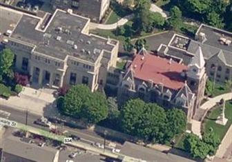 Aerial View of the County Court House